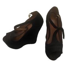 Sandales compensées JEFFREY CAMPBELL Noir