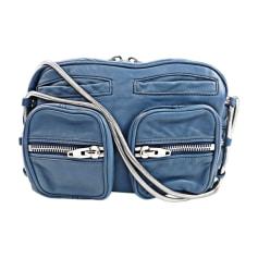 Sac en bandoulière en cuir ALEXANDER WANG Bleu, bleu marine, bleu turquoise