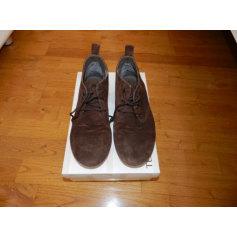 Chaussures à lacets  TEXTO Marron