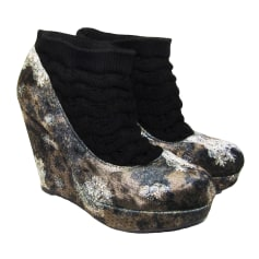 Wedge Ankle Boots DESIGUAL Multicolor