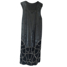 Robe mi-longue ALL SAINTS Noir