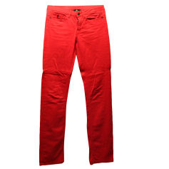 Straight Leg Jeans ONE STEP Red, burgundy