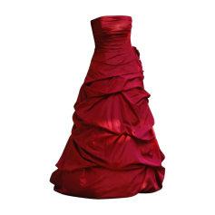 Robe de mariée ATELIER DIAGONAL Rouge, bordeaux