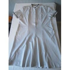 Robe longue MARCELLE GRIFFON Blanc, blanc cassé, écru