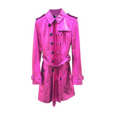 Imperméable, trench BURBERRY Rose, fuschia, vieux rose