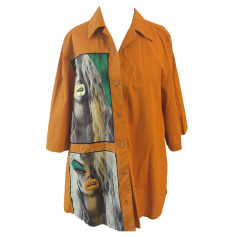 Chemise ACNE Orange