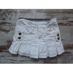 Skirt GUESS White, off-white, ecru