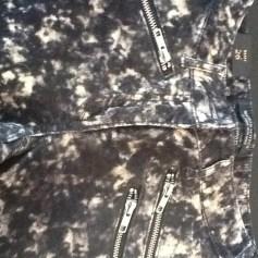 Jeans slim MAISON SCOTCH Noir/blanc