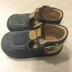 Buckle Shoes KICKERS Blue, navy, turquoise