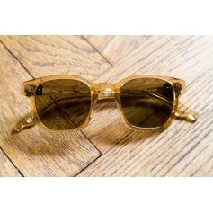 b4243a617a8bbf Lunettes de soleil Homme Jaune de marque   luxe pas cher - Videdressing