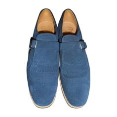 Calzature con fibbie CHURCH'S Blu, blu navy, turchese