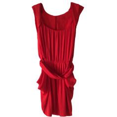 Mini-Kleid COMPTOIR DES COTONNIERS Rot, bordeauxrot