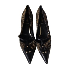 Pumps FENDI Braun