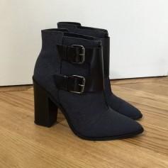 Bottines & low boots à talons TIBI Bleu, bleu marine, bleu turquoise