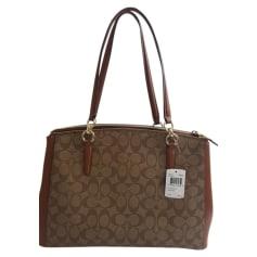 Non-Leather Handbag COACH Brown