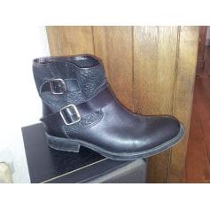 Aux Chaussures La Halle Bottes Femme FcT1K3ulJ