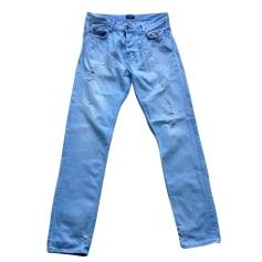 Skinny Jeans 7 FOR ALL MANKIND Blau, marineblau, türkisblau