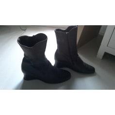 Bottines & low boots à compensés ARCHE Marron