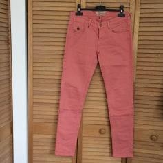 Jeans slim MAISON SCOTCH Vieux rose
