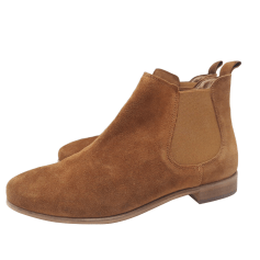 Flat Ankle Boots MINELLI Beige, camel