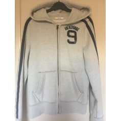 Tracksuit Top ABERCROMBIE & FITCH Gray, charcoal