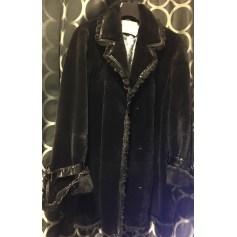 Blouson, veste en fourrure AGNÈS GERCAULT Noir