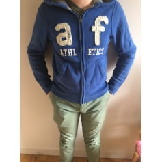Tracksuit Top ABERCROMBIE & FITCH Blue, navy, turquoise