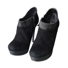 Bottines & low boots à talons AREZZO Noir