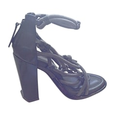 Sandales à talons ALEXANDER WANG Kaki