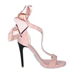 Sandales à talons ALEXIS MABILLE Rose, fuschia, vieux rose