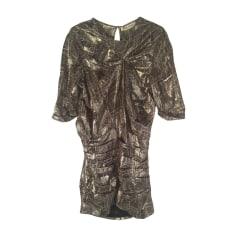 Mini-Kleid ISABEL MARANT Gold, Bronze, Kupfer