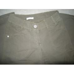 Pantalon large PROMOD Kaki