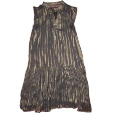 Midi-Kleid COMPTOIR DES COTONNIERS Gold, Bronze, Kupfer