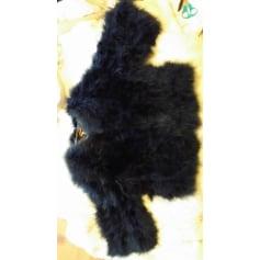 Veste en cuir noir femme jennyfer