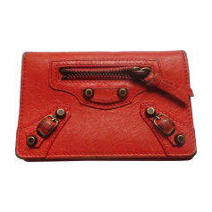 Card Case BALENCIAGA Orange