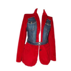 Veste JEAN PAUL GAULTIER Rouge, bordeaux
