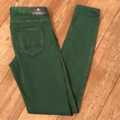 Jeans droit MAISON SCOTCH Vert