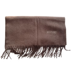 Scarf MOSCHINO Brown