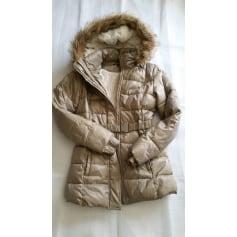 Down Jacket DKNY Beige, camel