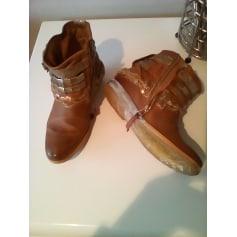 Bottines & low boots à compensés AIRSTEP Beige, camel