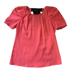 Top, T-shirt CLAUDIE PIERLOT Pink, fuchsia, light pink