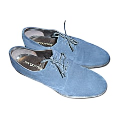 Calzature stringate SERGIO ROSSI Blu, blu navy, turchese