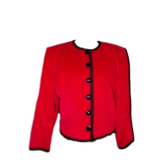 Veste YVES SAINT LAURENT Rouge, bordeaux