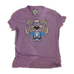 Top, tee-shirt KENZO Violet, mauve, lavande
