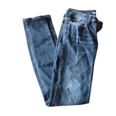 Jeans slim LE TEMPS DES CERISES Gris, anthracite