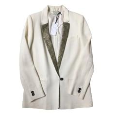 Blazer, veste tailleur FORTE_FORTE Blanc, blanc cassé, écru