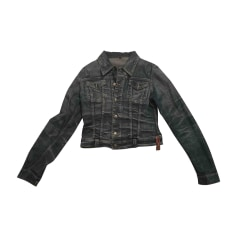 Zipped Jacket JUST CAVALLI Blue, navy, turquoise