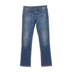 Jeans largo JUST CAVALLI Blu, blu navy, turchese