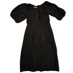 Robe mi-longue ANNARITA N Noir
