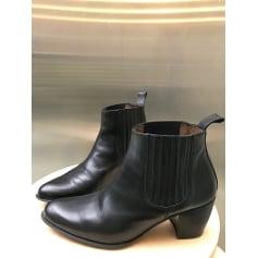 Bottines & low boots à talons PERTINI Noir